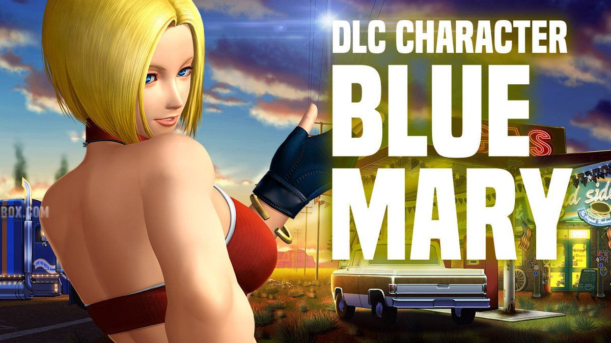 The King of Fighters 14 : Trailer de Blue Mary
