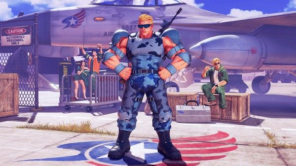 Street Fighter 5 Arcade Edition : Guile en Nameless Soldier
