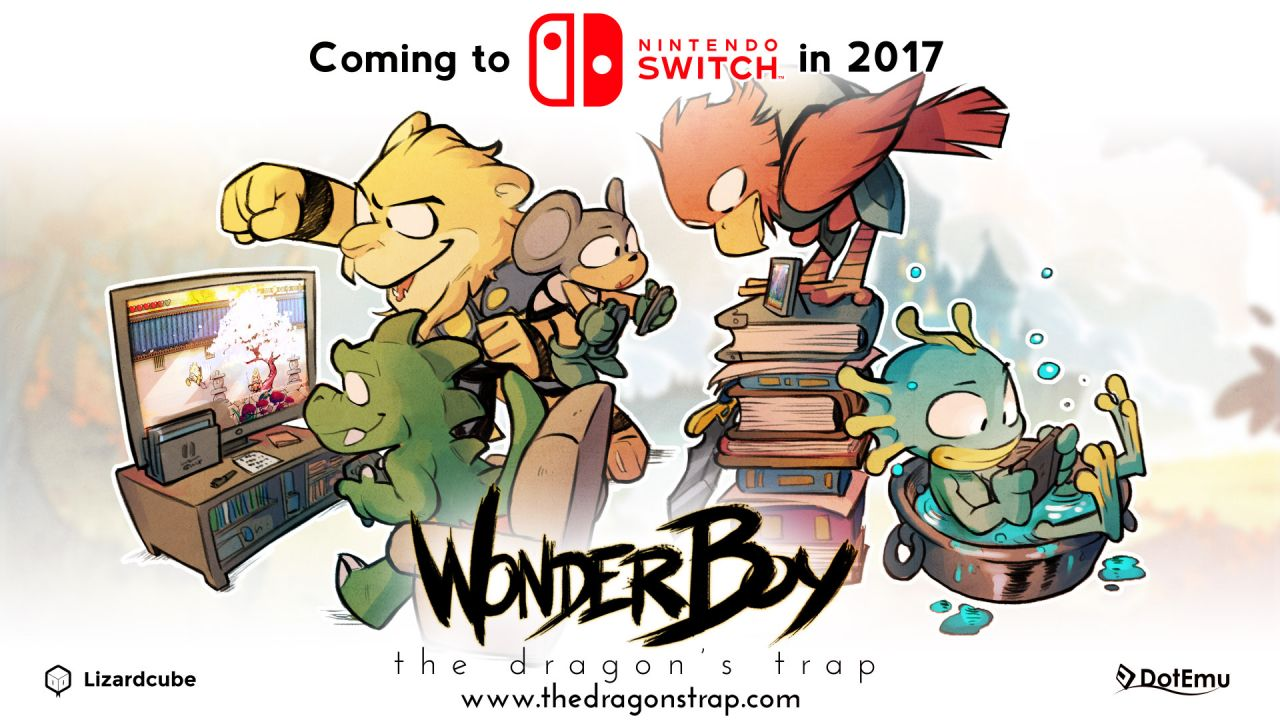 Bon Plan Switch : Wonder Boy The Dragon's Trap et ses goodies à 29,99 euros (au lieu de 39,99...)