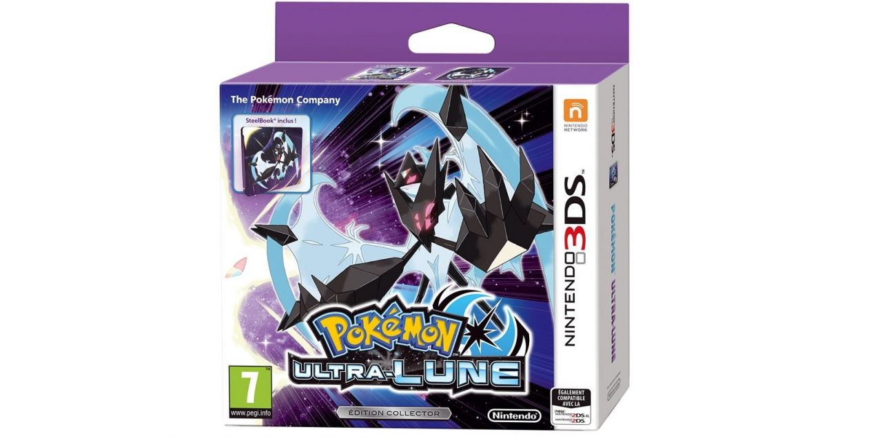 Bon Plan : Pokémon Ultra-Lune - Edition Collector à 34,99 euros (au lieu de 44,99...)