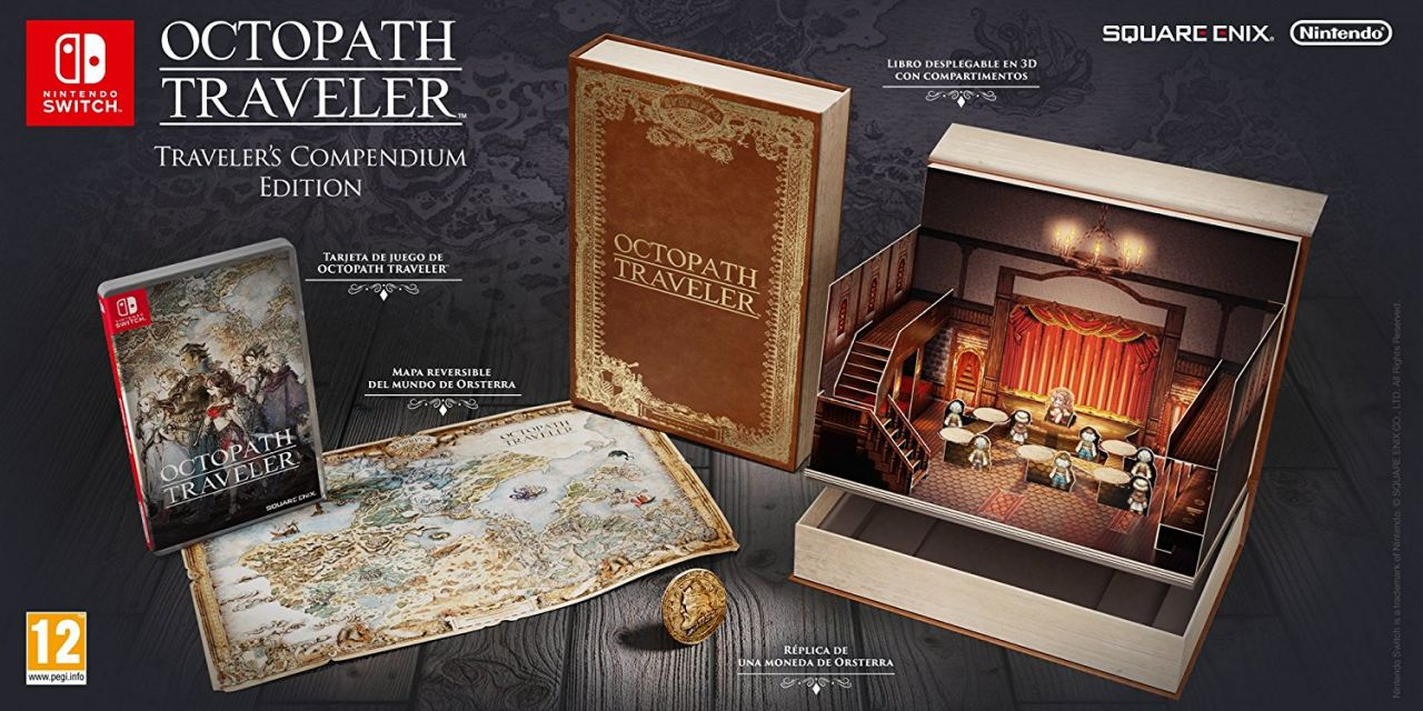 Précommande : Octopath Traveler - collector edition (restock chez Amazon)