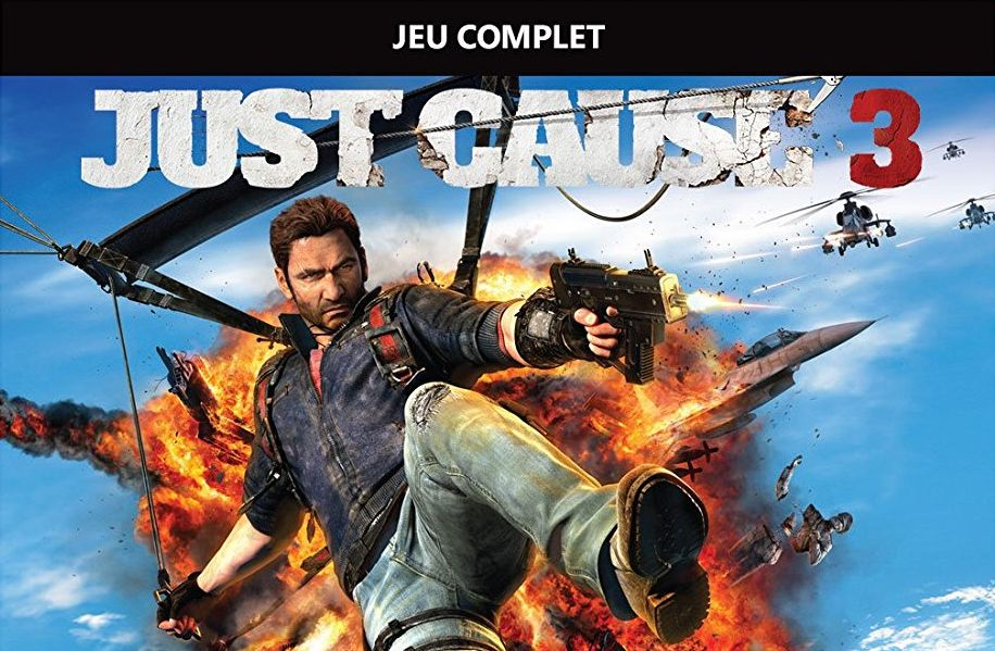 Bon Plan : Just Cause 3 sur Xbox One à 6 euros (au lieu de 29,99....)