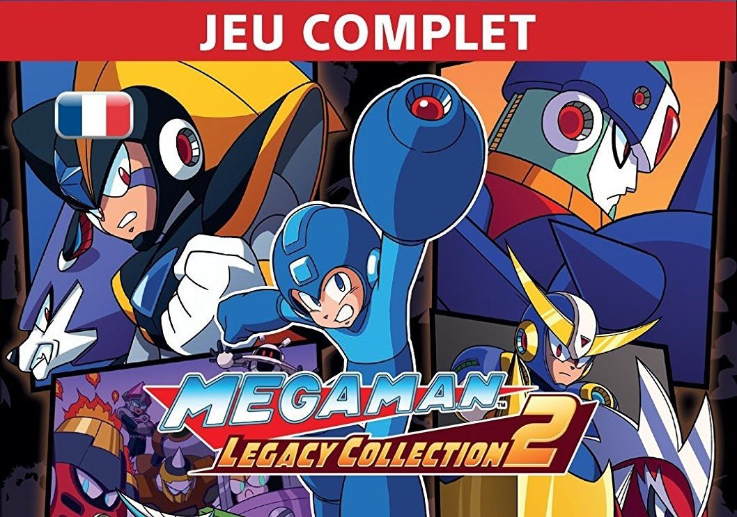 Bon Plan : Mega Man Legacy Collection 2 sur PS4 à 7,99 euros (au lieu de 14,99...)