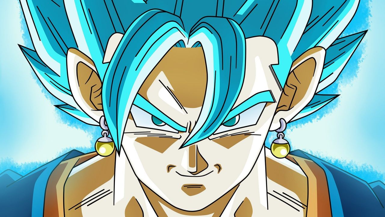 Dragon Ball FighterZ : Le trailer officiel de pour Vegito Super Saiyan Blue