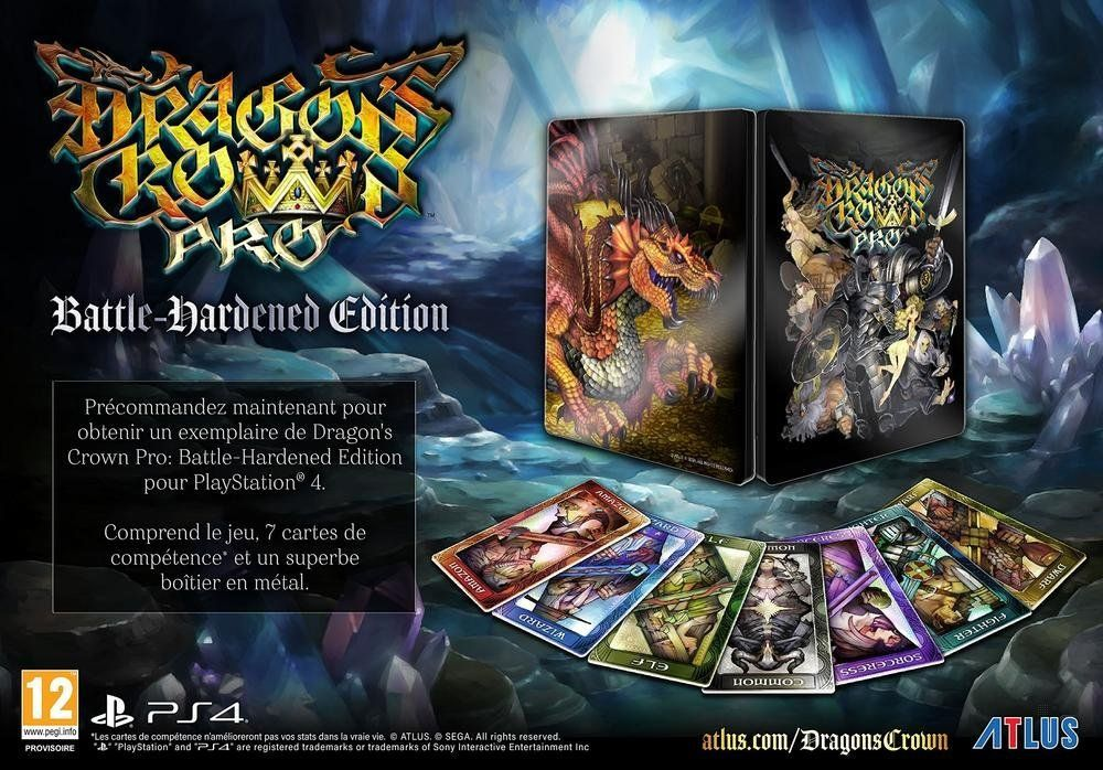 Bon Plan : Dragon's Crown Pro édition Battle Hardened sur PS4 à 44,90 euros