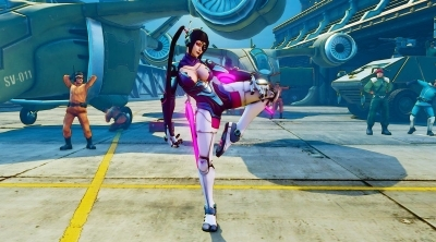 Street Fighter 5 Arcade Edition : Mech Fang et Mech Juri bientot disponibles