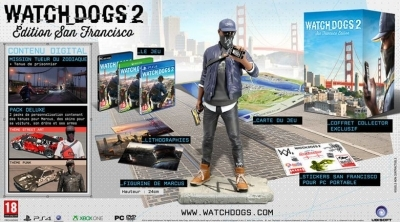 Bon Plan : L'édition collector de Watch Dogs 2 sur PS4 à 29,99 euros (au lieu de 110...)