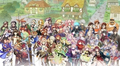 Nelke and the Legendary Alchemists : Ateliers of the New World : 100 personnages à l'affiche !