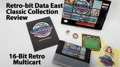 Soldes 2019 : Retro-Bit Data East Classic Collection -  SNES à 19,12 euros (au lieu de 35...)