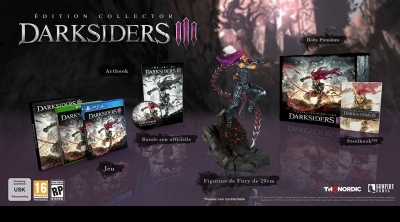 Bon Plan : Edition collector de Darksiders 3 de PS4, Xbox One et PC à 69,99 euros (au lieu de 149,99...)