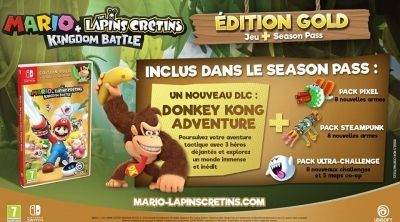 Bon Plan : Edition Gold de Mario + The Lapins Crétins Kingdom Battle à 39,99 euros (au lieu de 59,99...)