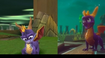 Spyro Reignited Trilogy : Comparaison graphique PS1 vs PS4/Xbox One !