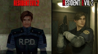 Resident Evil 2 : Comparaison graphique entre la version originale et le remake !