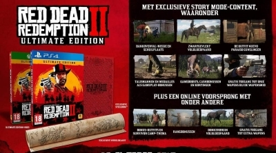 [Expiré] Bon Plan : Red Dead Redemption 2 - Ultimate Edition à 84,92 euros (au lieu de 99,99...)
