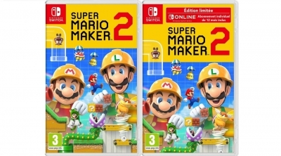 Bon Plan Amazon : Super Mario Maker 2 sur Switch à 45,99 euros (au lieu de 59,99...)