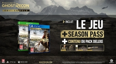Bon Plan : Ghost Recon Wildlands - édition GOLD sur PS4 à 33,86 euros (au lieu de 99,99....)