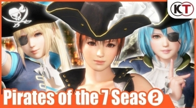 Dead or Alive 6 : Un nouveau lot de tenues pirates !