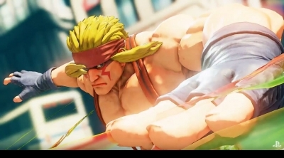 Street Fighter 5 : trailer de Alex