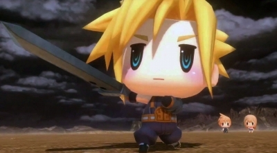 World of Final Fantasy : Le contenu des éditions