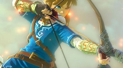 Zelda Breath of the Wild : Vidéo de Gameplay d'un Link et son arc