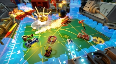 Micro Machines World Series : Cinq nouvelles images in-game