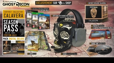 Ghost Recon Wildlands : Présentation de l'édition collector exclusive à la boutique Ubisoft