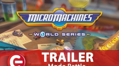 Micro Machines World Series : Le nouveau trailer pour le 'Battle Mode'