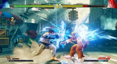 Street Fighter 5 Arcade Edition : Trailer de gameplay