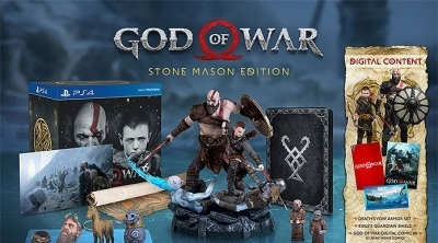Stock disponible pour l'édition collector de God of War sur Amazon (PS4)