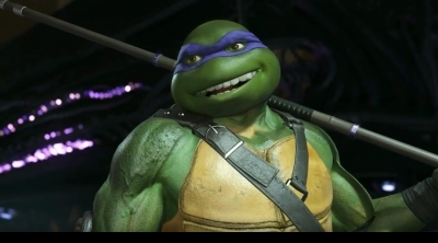 Injustice 2 : trailer des tortues ninja