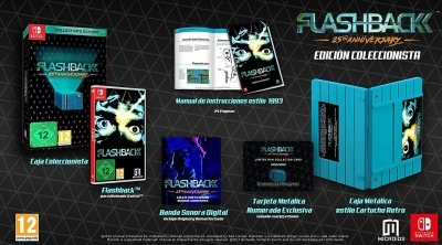 Bon Plan précommande : Flashback 25th Anniversary édition collector sur Switch via Micromania en France