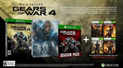 Gears of War Ultimate Edition : Proposé à 19,99 euros sur Amazon jusqu'à rupture des stocks (au lieu de 99,99...)