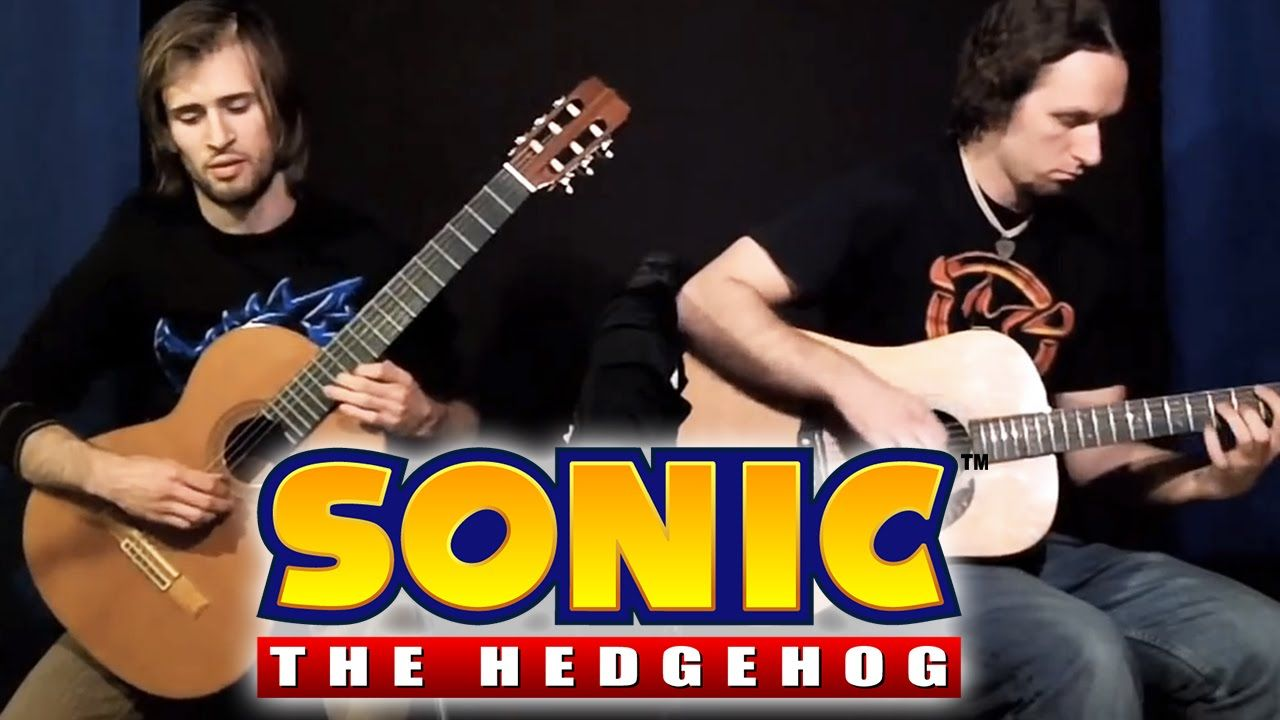 MusiqueFun : Sonic the Hedgehog à la guitare (medley)