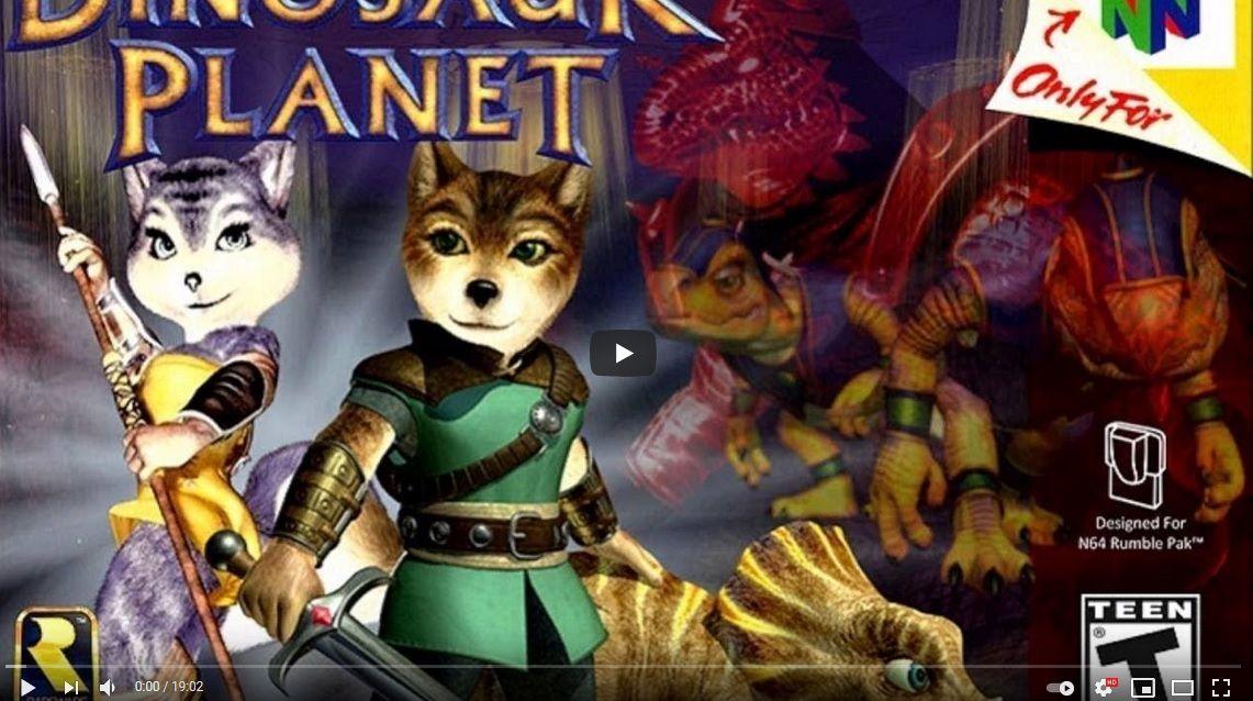 Dinosaur Planet : L'ancetre N64 de StarFox Adventures... sur le web !