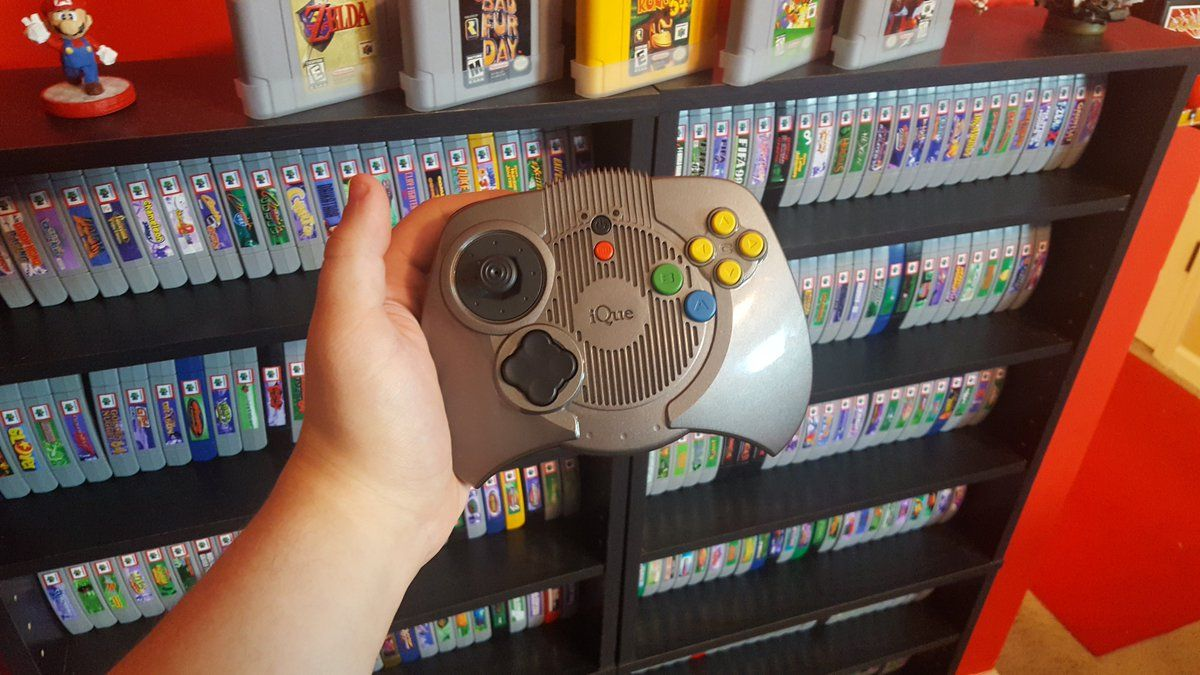 CULTURE RETRO : Le iQue Player, manette équivalente à une console Nintendo 64 en Chine !
