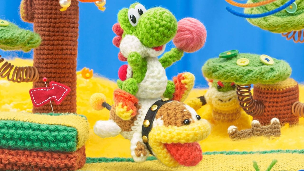Yoshi's Woolly World : Le nouveau trailer 3DS proposé par Nintendo