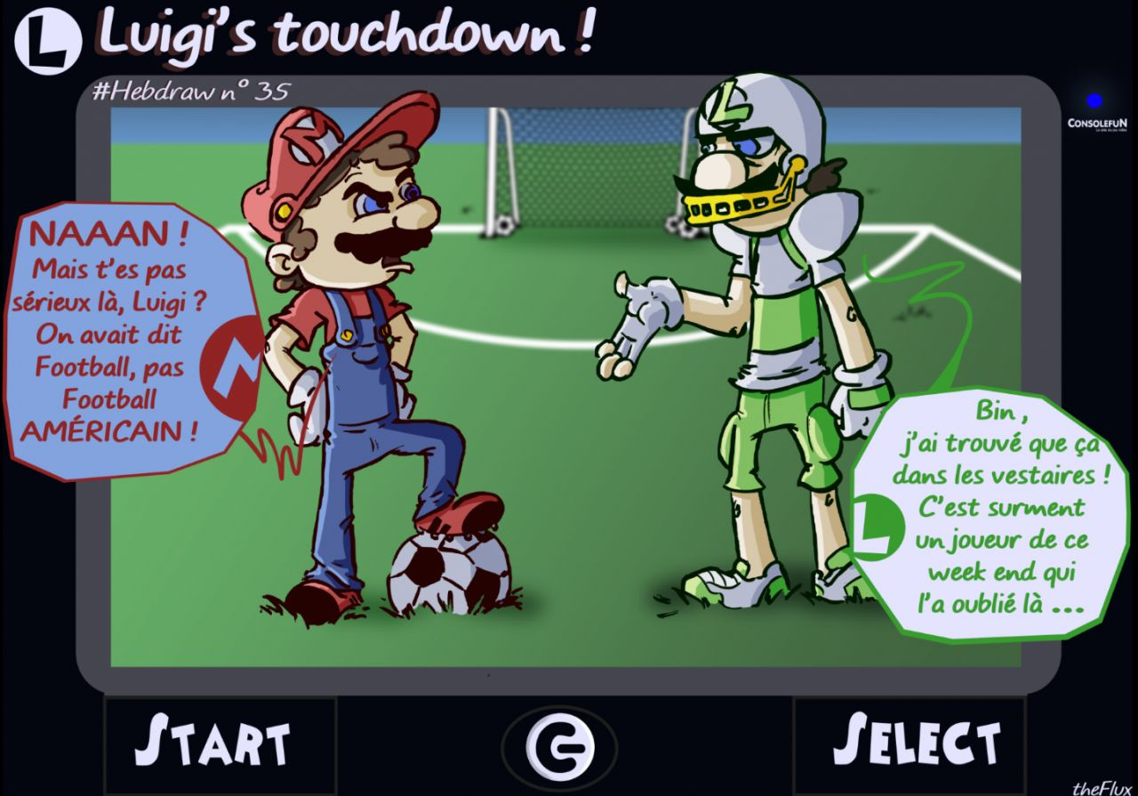 Hebdraw n° 35 : Du football pour Mario Sports Superstars !