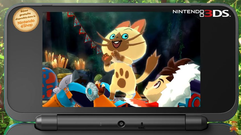 Monster Hunter Stories : La bande-annonce de lancement
