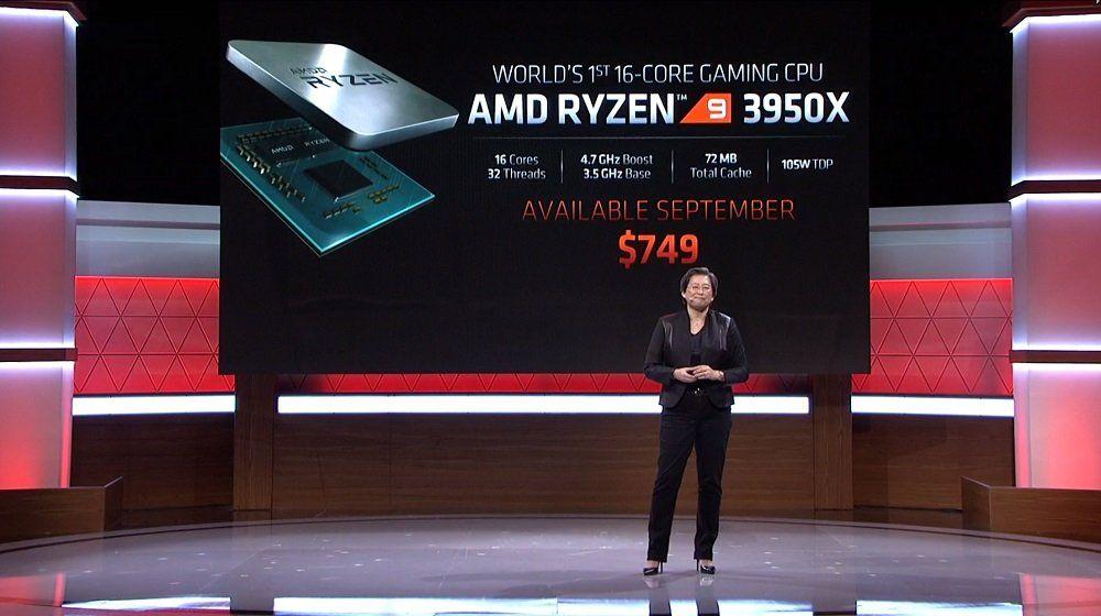 E3 : Les nouveautés AMD - Zen 2, Ryzen 9 3850X, RX5700 XT... le constructeur passe à l'attaque !