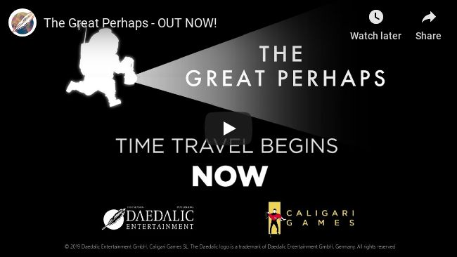 The Great Perhaps : Désormais disponible sur PC