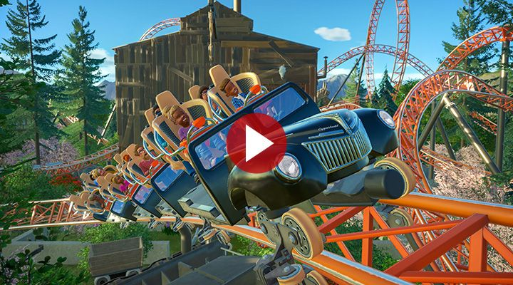 Planet Coaster : Classic Rides Collection et un nouveau manège arrivent le 16 avril...