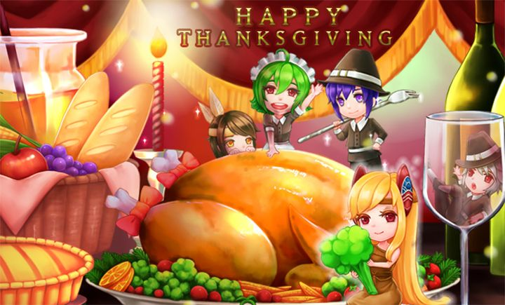 Grand Fantasia : Des donjons pour Thanksgiving !