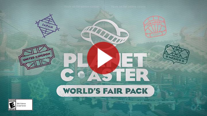 Planet Coaster : Le Pack World's Fair sera disponible le 16 octobre 2018