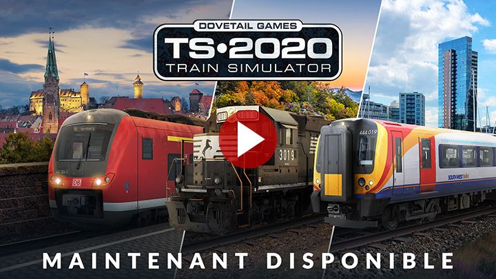 Train Simulator 2020 : Désormais disponible sur PC