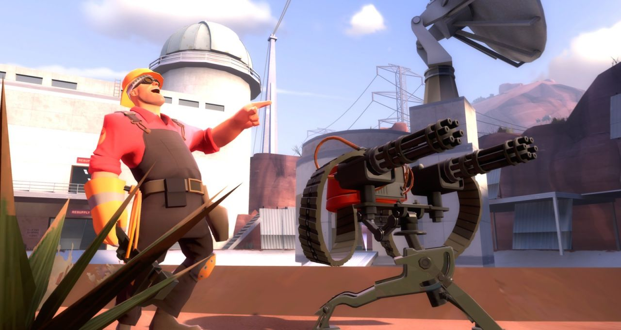 Team Fortress 2 : MAJ engineer