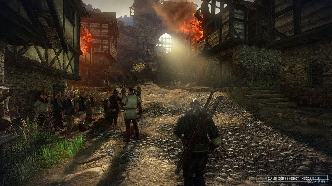 The Witcher 2 : 5 minutes de combat !
