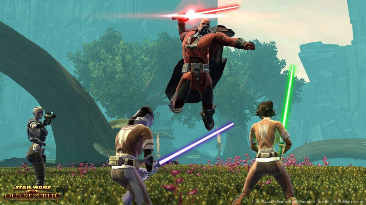 Star Wars TOR : Free to Play en Automne