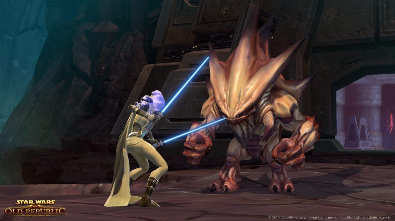 Star Wars The Old Republic : Free To Play  !