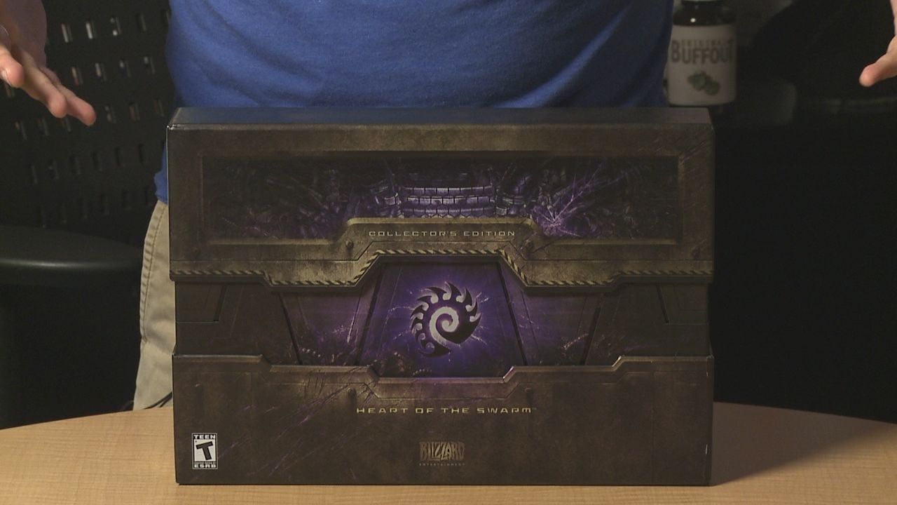 Starcraft 2 HOTS : Déballage de l'édition collector