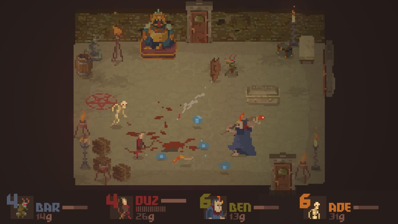 Crawl: Le Dungeon Crawler multijoueur !
